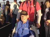 Allen Anthony World War II veteran departs on honor flight to Washington