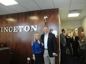 Scott Brown visits Princeton Technology
