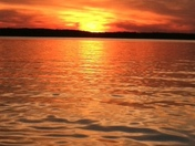 Sunset on Lake Hartwell