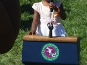 Semaj Bryant at 2014 White House Easter Egg Roll