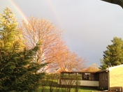 Yesterday's double rainbow over Dover, PA