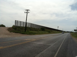The infamous fence along the US-Mexico Border
