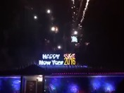 New Year's Eve 2016 decorations