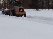 Leesburg, Virginia - Getting Plowed Out