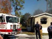 Ormond Beach, Florida fire Total loss.