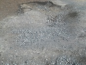 Major pothhole