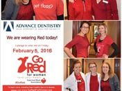 Advance Dentistry Goes Red for Women