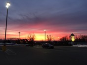 Chambersburg, PA Sunrise route 30 west at food lion on radio hill