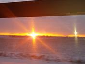 Sunrise riding bus to Marshaltown!