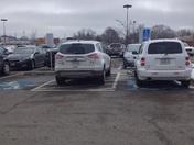 Best parking spot