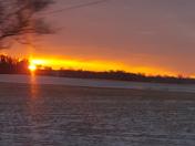 Sunrise in Iowa!