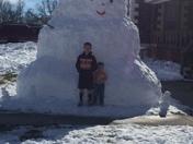 Largest snowman around