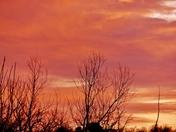 sunset/clouds 2-7-2016