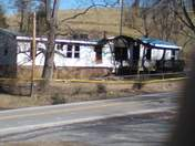 house caught on fire