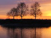 Sunset Natomas Feb 11 2016