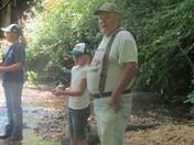 fishing / w/ granddaughters