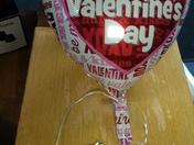 Valentine's Balloon Wish
