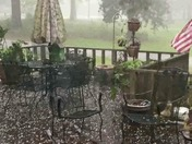 South Brookhaven, MS hail, wind and rain