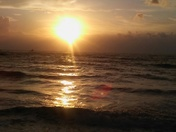 Caught this picture at Fort Pierce Inlet. Happy Earth Day