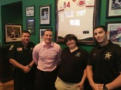 Duffy's Sports Grill Tip a Cop Event