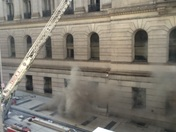Baltimore, MD courthouse electrical fire