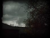 Storm moving in Colerain Twnship area last night