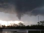 Tornado at Winston Truck Stop