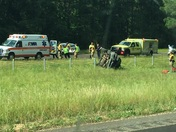 Accident on I-55