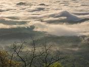 April Escarpment Clouds