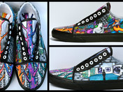 Eastern's Art Students Make the Top 50 in the Vans Custom Culture Contest