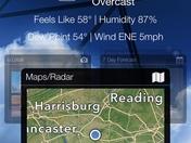 Poor weather apps