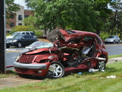 The Crash at Lawndale and Pisgah today