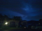 Lightning in St Lucie as seen from Ft Pierce