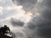 Storm clouds over Boynton Beach