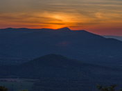 May Escarpment Morning from Eastern Alleghany County