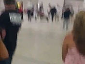 Trump rally protesters being removed
