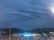 Waves of clouds over Kauffman