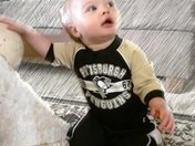Grandma's pretty little Pens fan