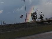 Rainbow over the Flag