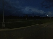 Clouds from College View Elementary