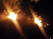 WILD FIRE IN WEST MODESTO