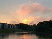 Kernersville sunrise, June 24th
