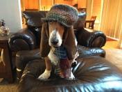 I look good in hats!