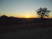 sun set in forster kentucky