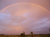 Rainbow in Kansas Sunday Night