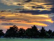 Sunset 6 27 16 on Broadmoore Golf course