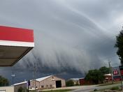 Paola, KS. storm clouds