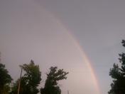 rainbow on the delta
