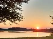 Summertime Sunset on Longarm Dam