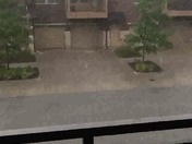 Aksarben Village - heavy rain